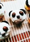 【デコ】パンダカップケーキ♪