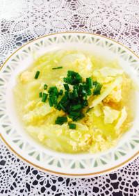 きゃべたま☆中華スープ