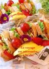 常備菜でサンドイッチ 簡単 可愛い