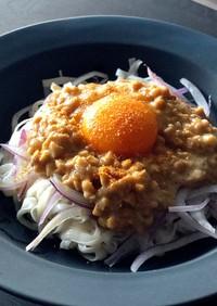 糖質ゼロ麺で納豆麺◎簡単◎ランチに♪