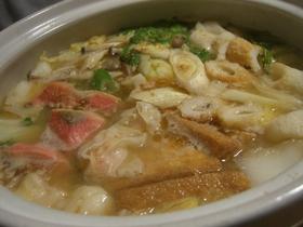 酒粕を入れた栄養満点☆味噌ちゃんこ鍋