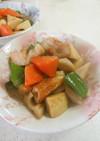 野菜とちくわの炒め煮