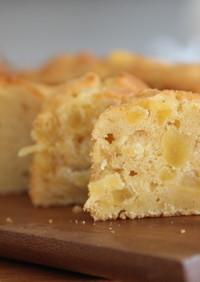 ドライフルーツの米粉パウンドケーキ