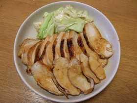 鶏ムネ肉の照り焼き