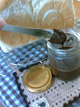 ++パンにつけるチョコペースト++