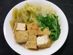 厚揚げと白菜の煮物~お野菜たっぷり~