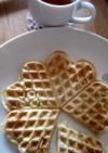 ワッフル!ノルウェー☆バター、卵なし