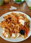 ローソンの野菜キムチ納豆炒め