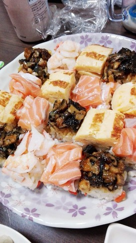 ひな祭りにも❤️ちらし押し寿司