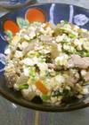 低糖質でエコな炒り豆腐