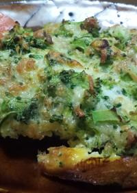 鶏のブロッコリーチーズ焼き
