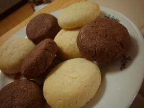 サラダオイルで♪アーモンドクッキー2種
