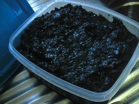 湿気った海苔で*自家製海苔の佃煮