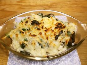焼き芋のチーズ焼き