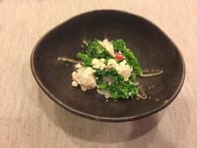 花菜と鯛の卯の花和え