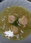 えび団子のスープ