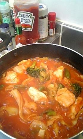チキンのトマト煮♪