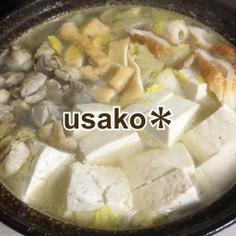 簡単★ちゃんこ鍋