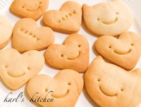 簡単かわいい楽しい型抜きクッキー覚書