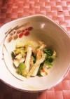 副菜 小松菜と白菜のあっさり和え物