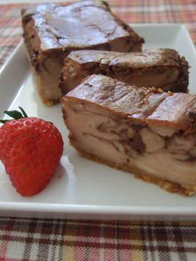 濃厚!チョコクリームチーズケーキ☆