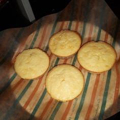 手のひらサイズ☆マフィン型チーズケーキ