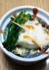 お弁当に♪簡単タラの梅チーズ焼き