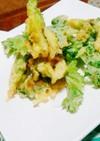 セロリの天ぷら