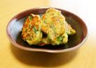 とろふわ食感♪葱とチーズの落とし焼き