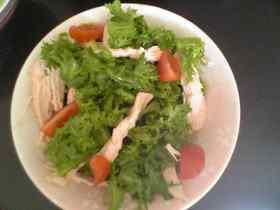 トマト酢のサラダ