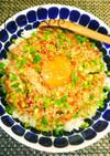 簡単激ウマ*ほんのり中華風ツナ納豆丼