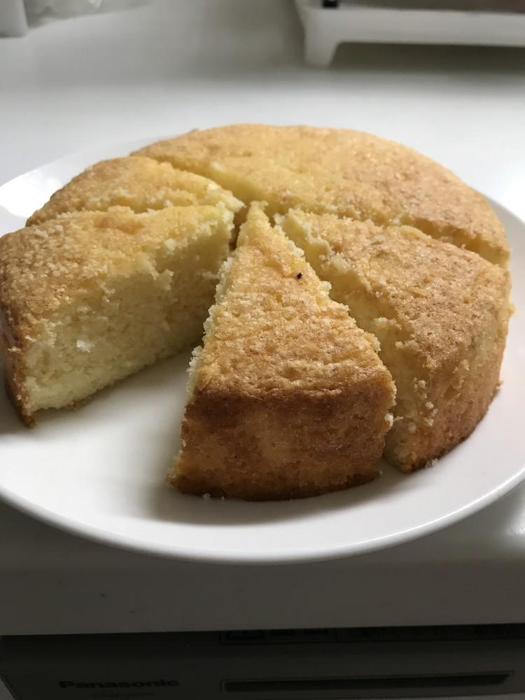 HMでも出来る簡単レモンケーキ