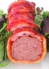 肉の日に♡ミートローフのベーコン巻き
