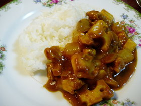 冬野菜(根菜)カレー