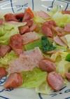 レンチン2分! 野菜炒め物風おかず