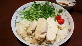 簡単♪炊飯器で本格的なカオマンガイ