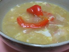 簡単スペイン♪オニオンガーリックスープ