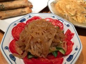 くらげの中華風サラダ