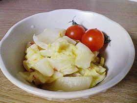 簡単すぎ!材料3つの白菜サラダ?