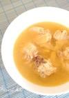 台湾のぽかぽかスープ『麻油鶏』
