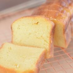 パウンドケーキ風♪オレンジジュースケーキ