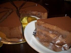 ☆チョコムースケーキ☆