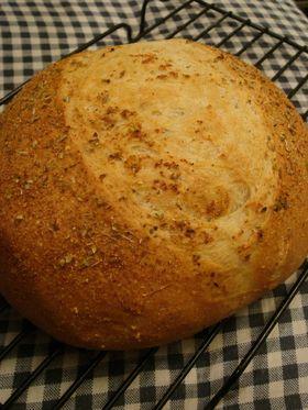 内層ふんわり♪ガーリックとバターのパン