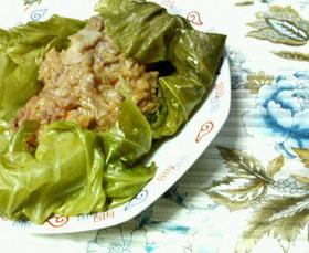 ✿豚薄切り肉の❀モチモチ✿中華蒸し