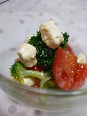 簡単!クリチとブロッコリーのサラダ