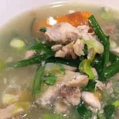 本格☆手作り豚骨スープ