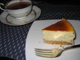 リッツでベークドチーズケーキ