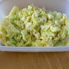 キャベツとゆで卵のサラダ