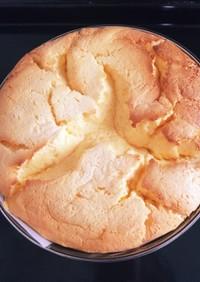 ヘルシーふわふわスフレチーズケーキ