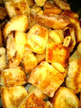 フライパンで食パンで☆キャラメルコーン風